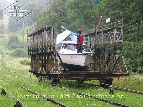 privates Segelschiff in Buchwalde