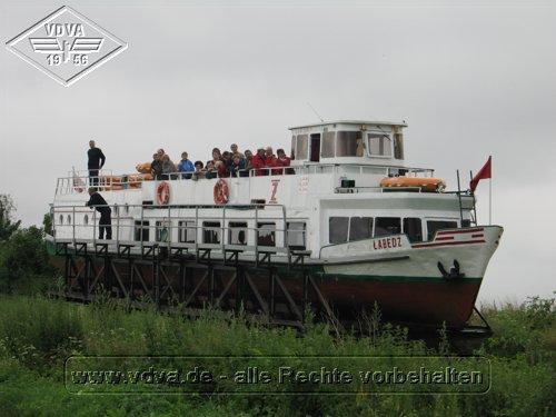 Schiff Labedz in NeuKußfeld