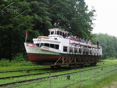 Schiff LABEDZ inBuchwalde