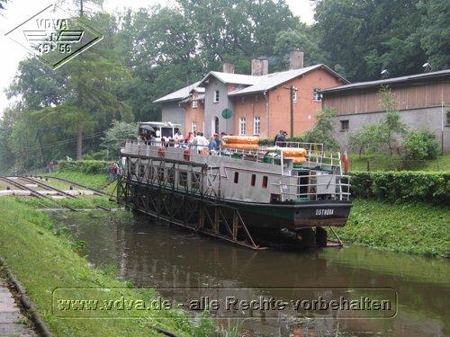 Schiff Ostroda inBuchwalde