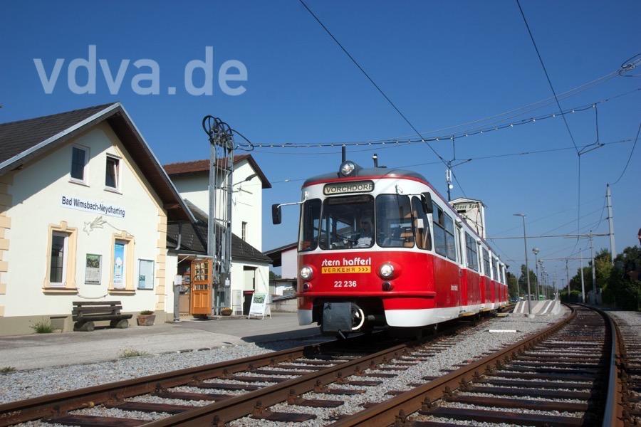 """Ex Kölner """"Sambazug"""" in Bad Wimsbach-Neydharting"""