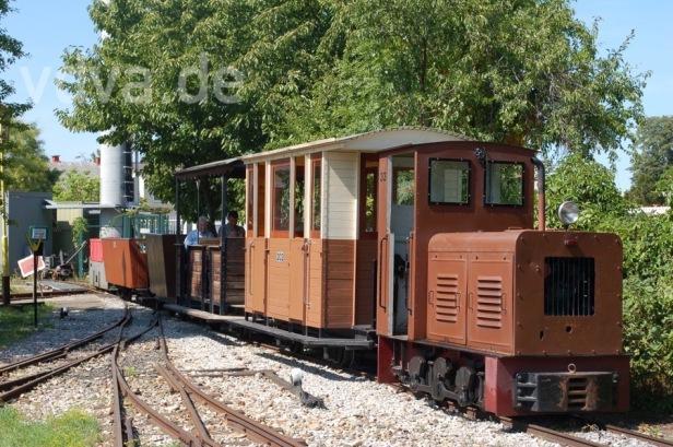Feldbahn im Eisenbahnmuseum Schwechat